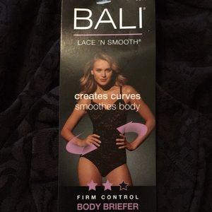 NWT, Black Bali Firm Control Body Briefer